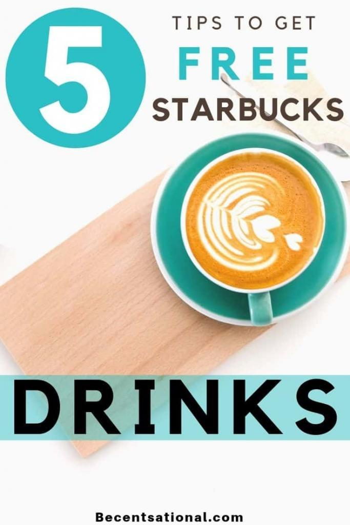 How to Get Free Starbucks   free drinks at starbuck