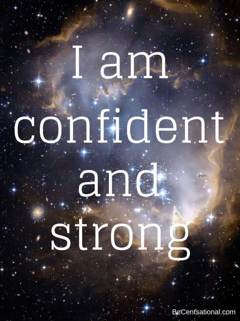 Sefl confidence affirmations