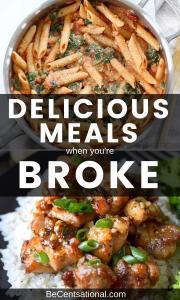 frugal foods to buy when broke