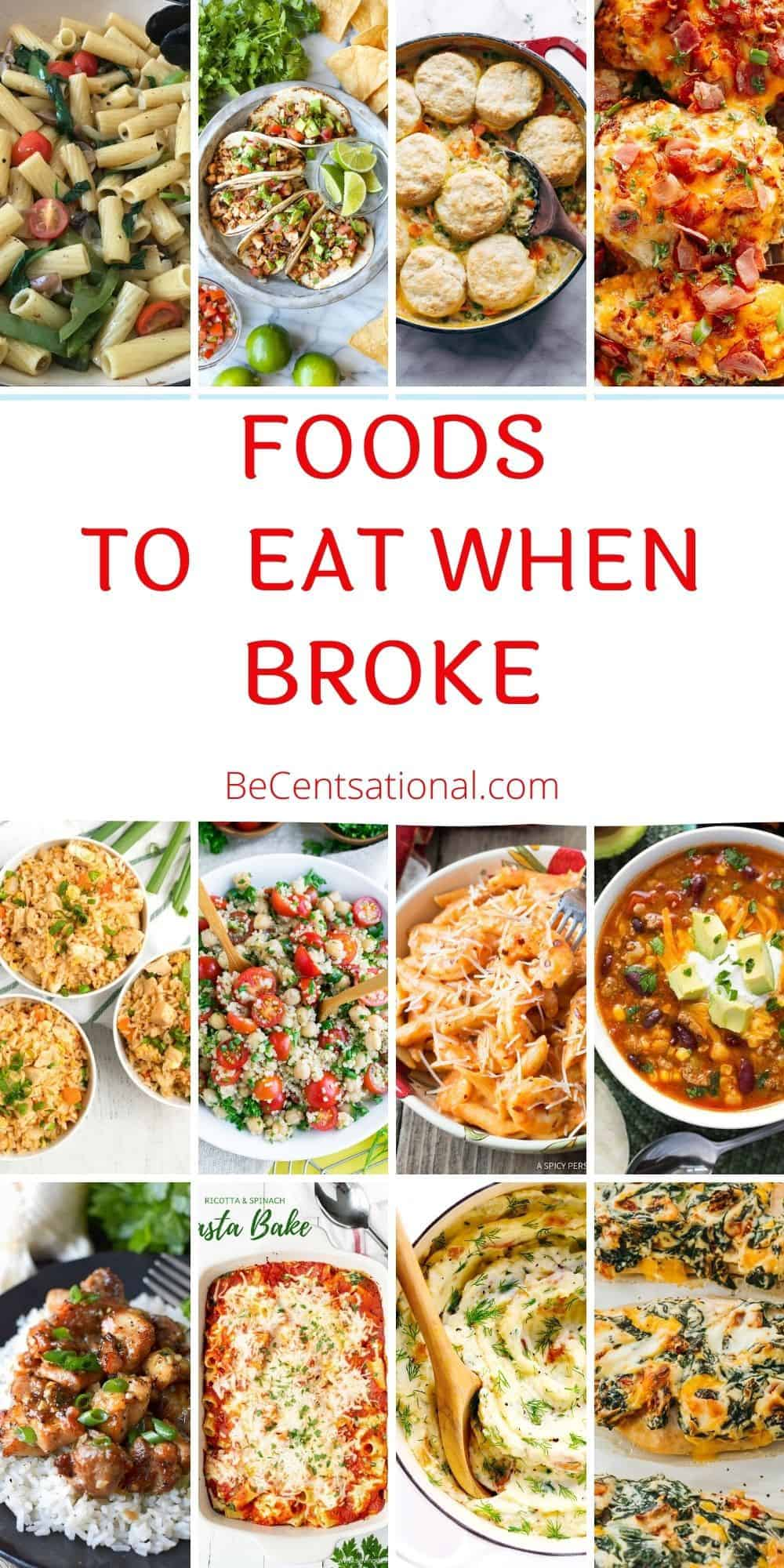 foods to eat when broke