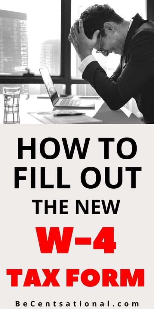 How to fill out the new w-4 form