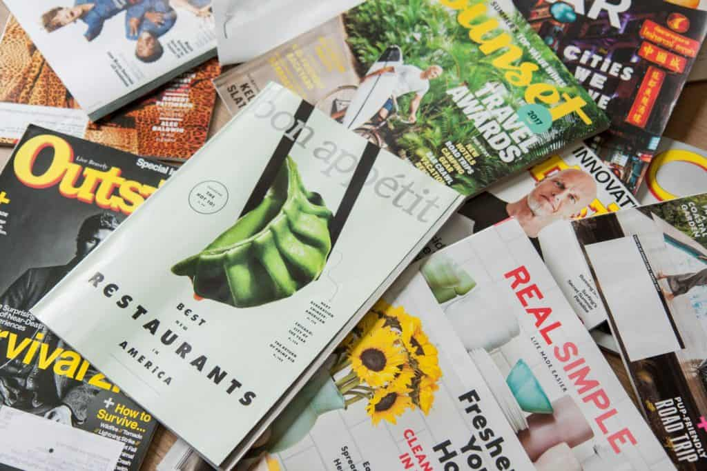 stop buying magazine subscriptions to save money