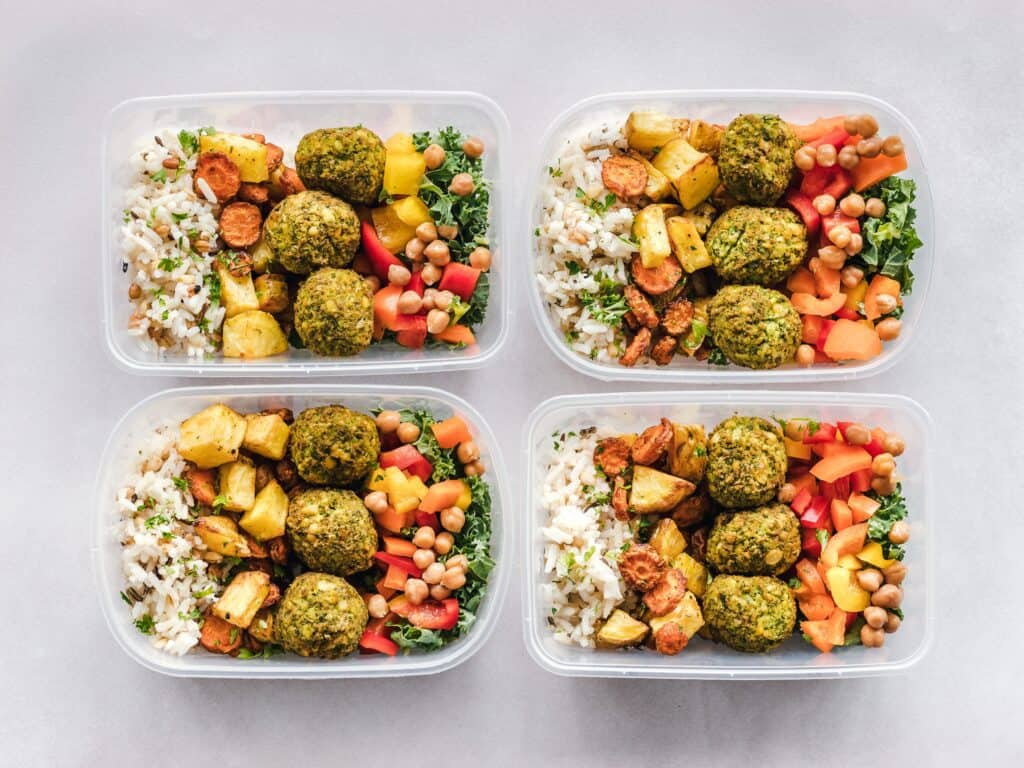 Meal prep is one of the 12 Productive Things to do on Sunday