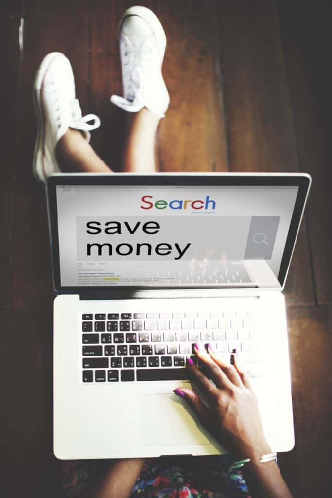 Stop spending less money and star saving more money