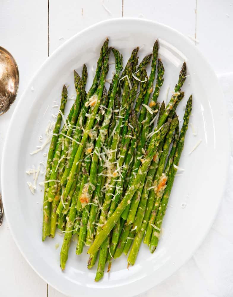 Garlic and Parmesan Roasted Asparagus