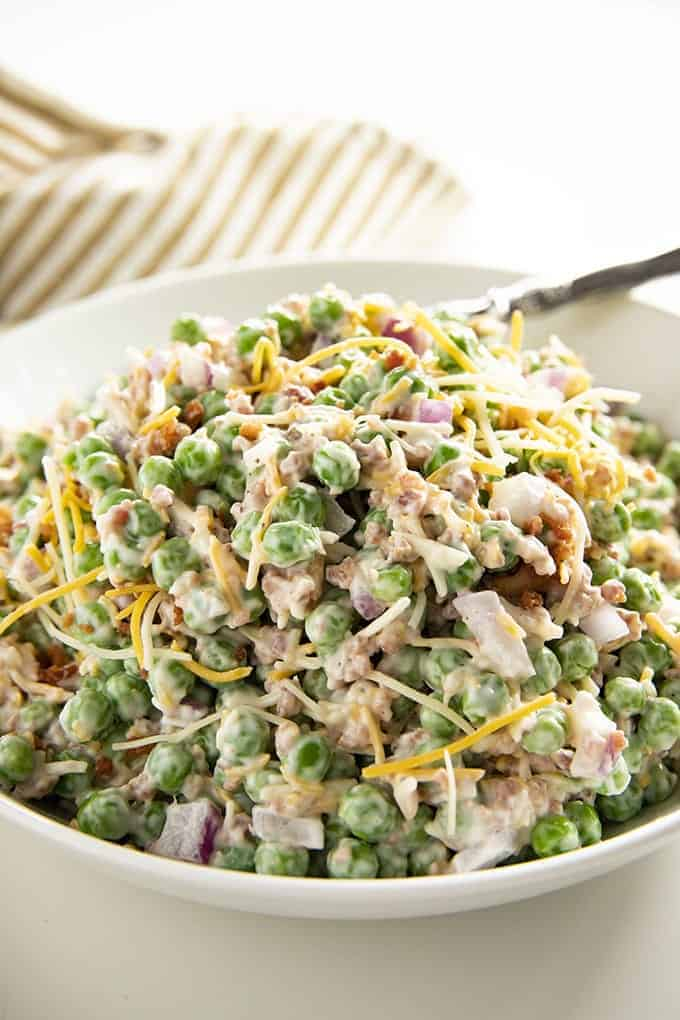 The best Classic Pea Salad