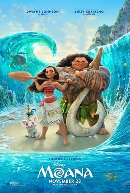 moana animated movie poster