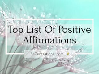List of positive affirmations