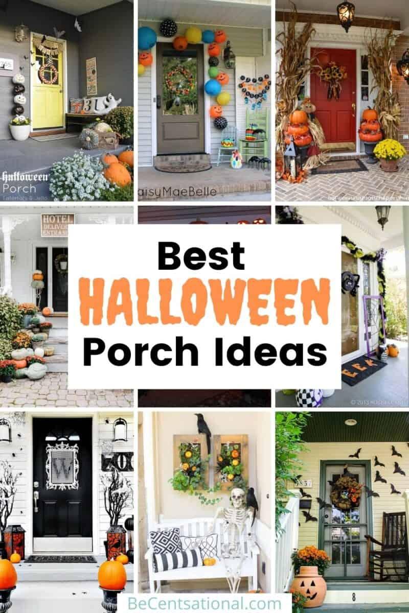 Halloween porch decor Ideas