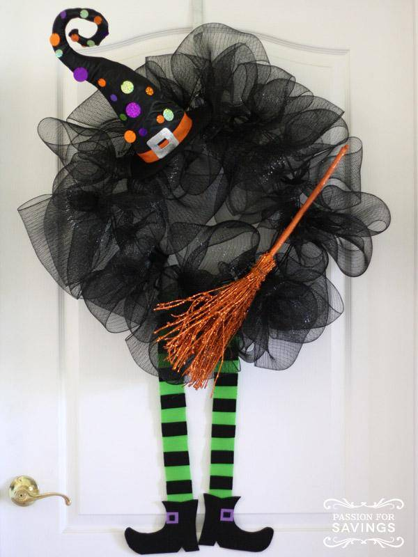 Cutie Witch Wreath