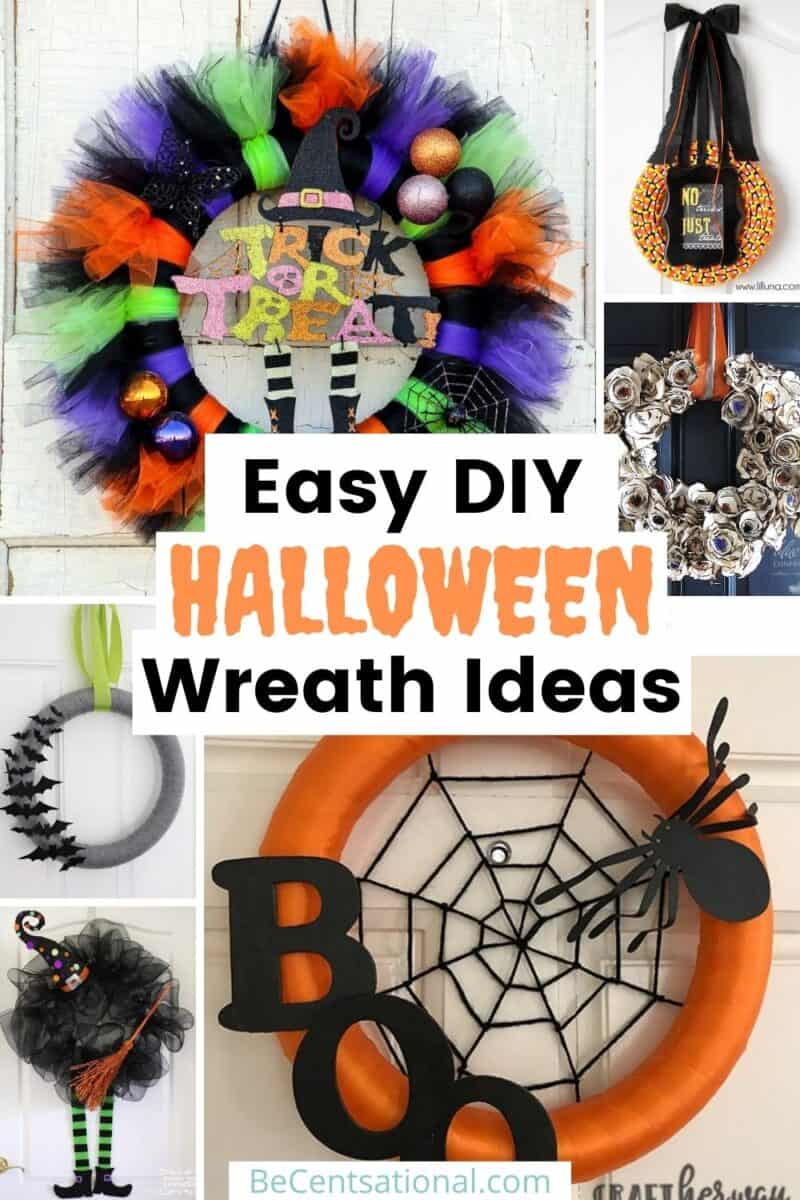 Easy DIY Halloween Wreath Ideas
