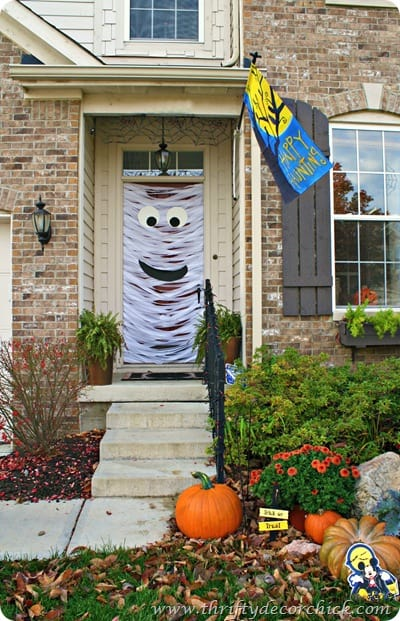 Halloween Mummy Door