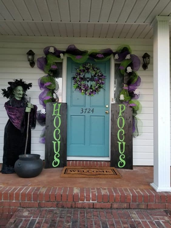 Hocus Pocus Porch Decor