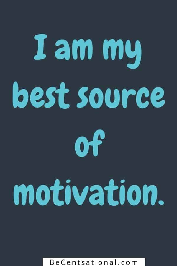 Self Confidence Positive affirmations