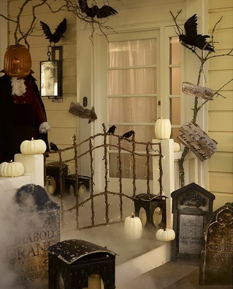 Sleepy Hollow Halloween Porch