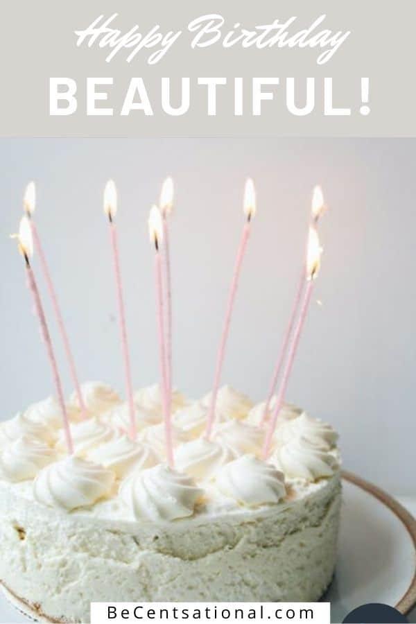 happy birthday beautiful.