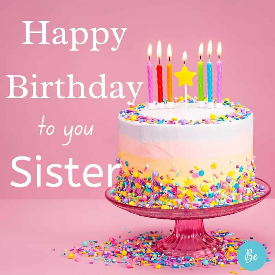 Happy Birthday Wishes for Sister   Sweet Birthday Messages for Sister, happy birthday card for sister