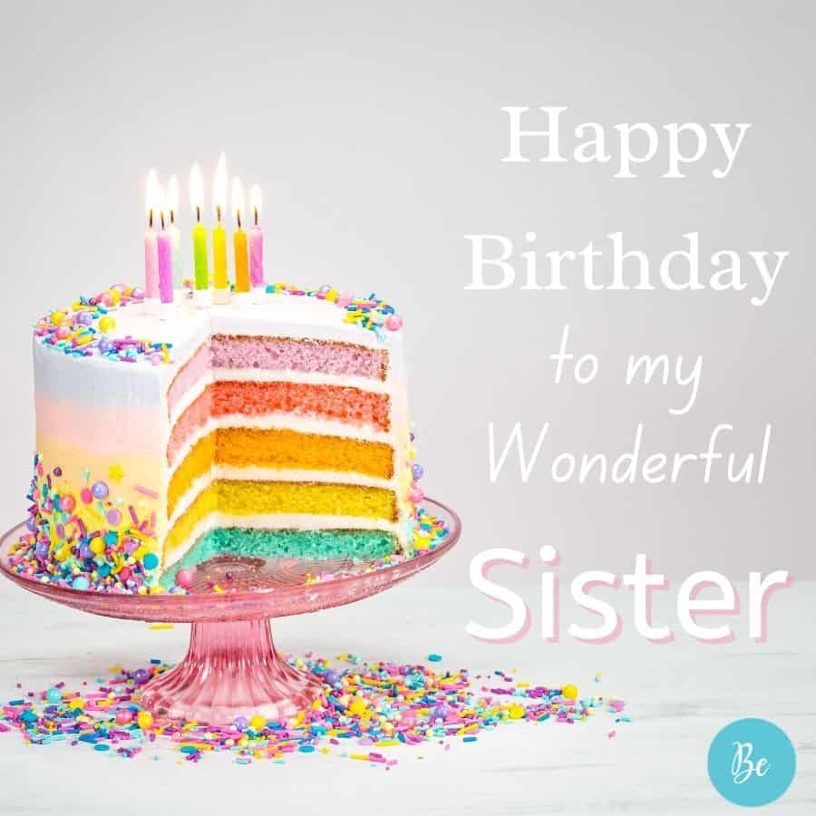 Happy Birthday Wishes for Sister | Sweet Birthday Messages for Sister