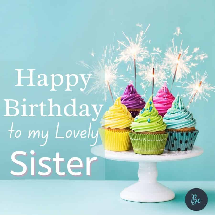 Happy Birthday Wishes for Sister   Sweet Birthday Messages for Sister
