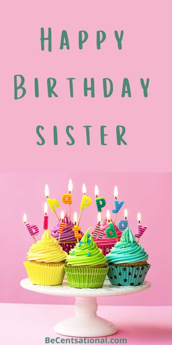 birthday messages for sister, birthday wishes for sister   Happy Birthday Sister