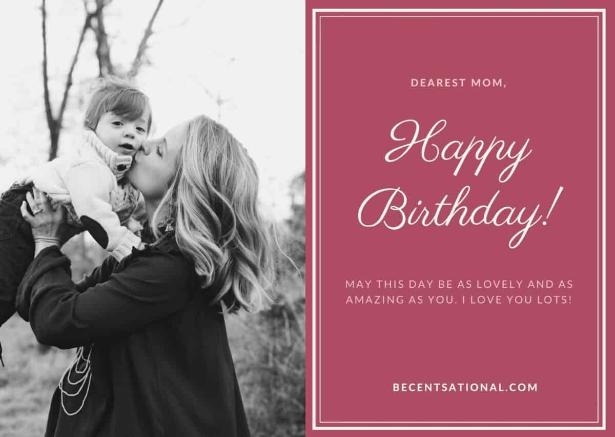 happy birthday wishes mother
