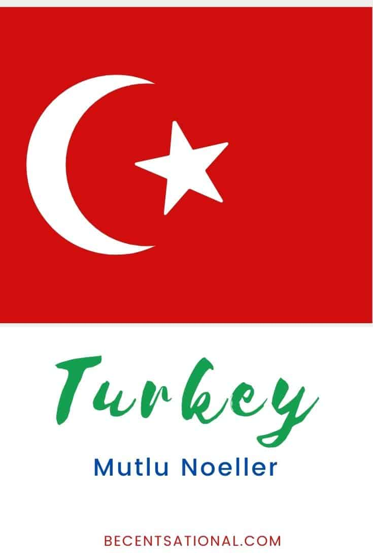 How to say Merry Christmas in Turkish