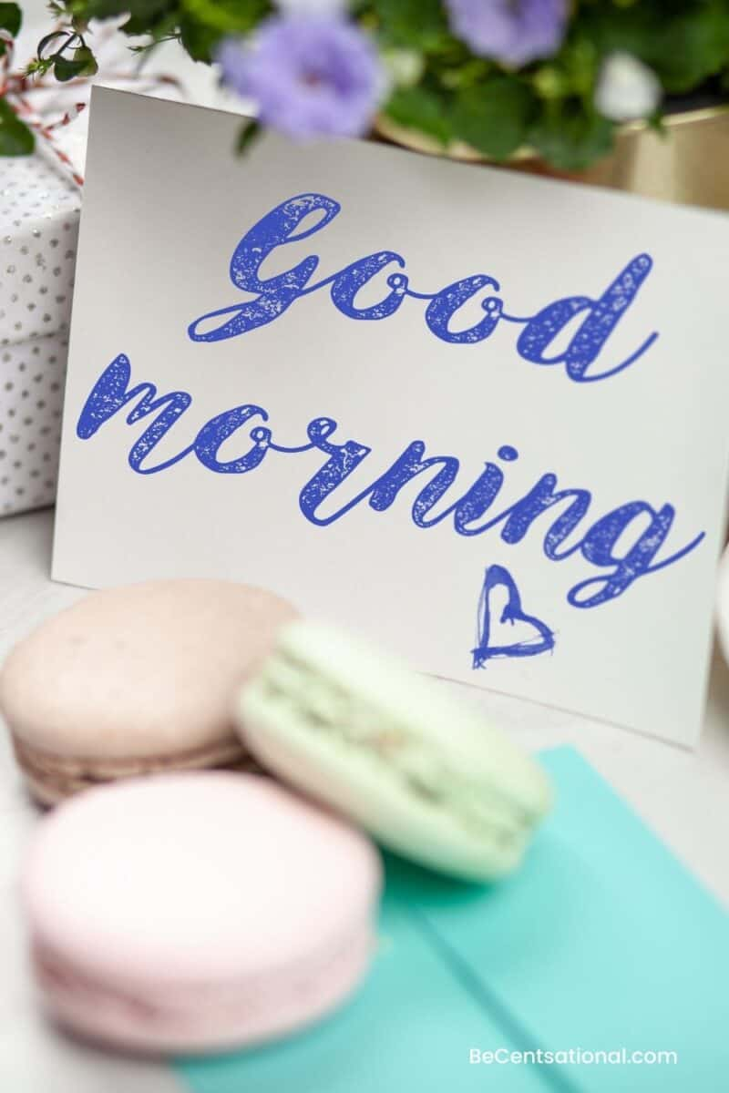 good morning my wife quotes