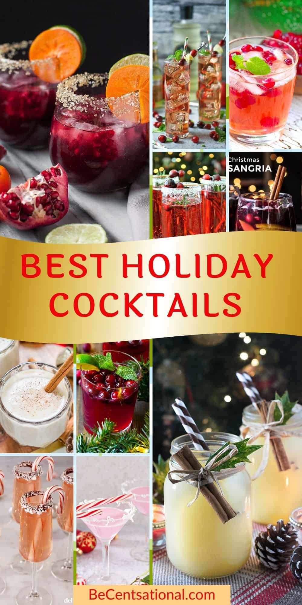 Easy holiday cocktails and recipes