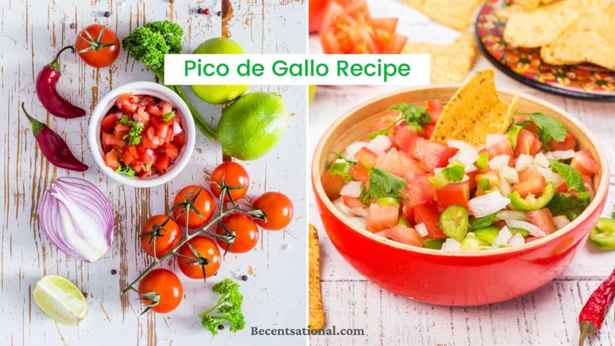 best authentic pico de gallo