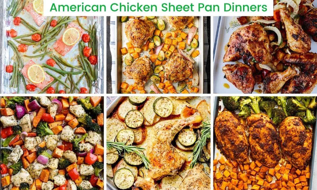 American Chicken Sheet Pan Dinners
