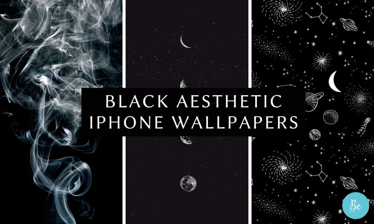 Black Aesthetic iPhone Wallpapers
