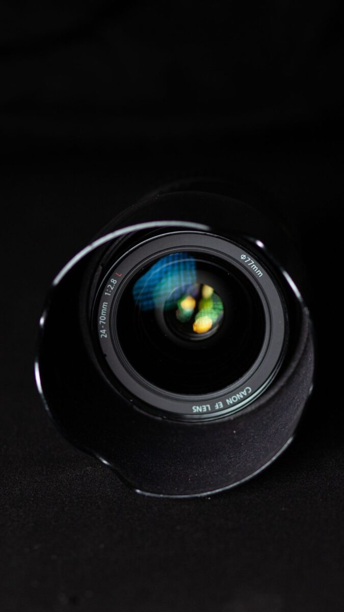 camera lens Black Aesthetic Wallpapers