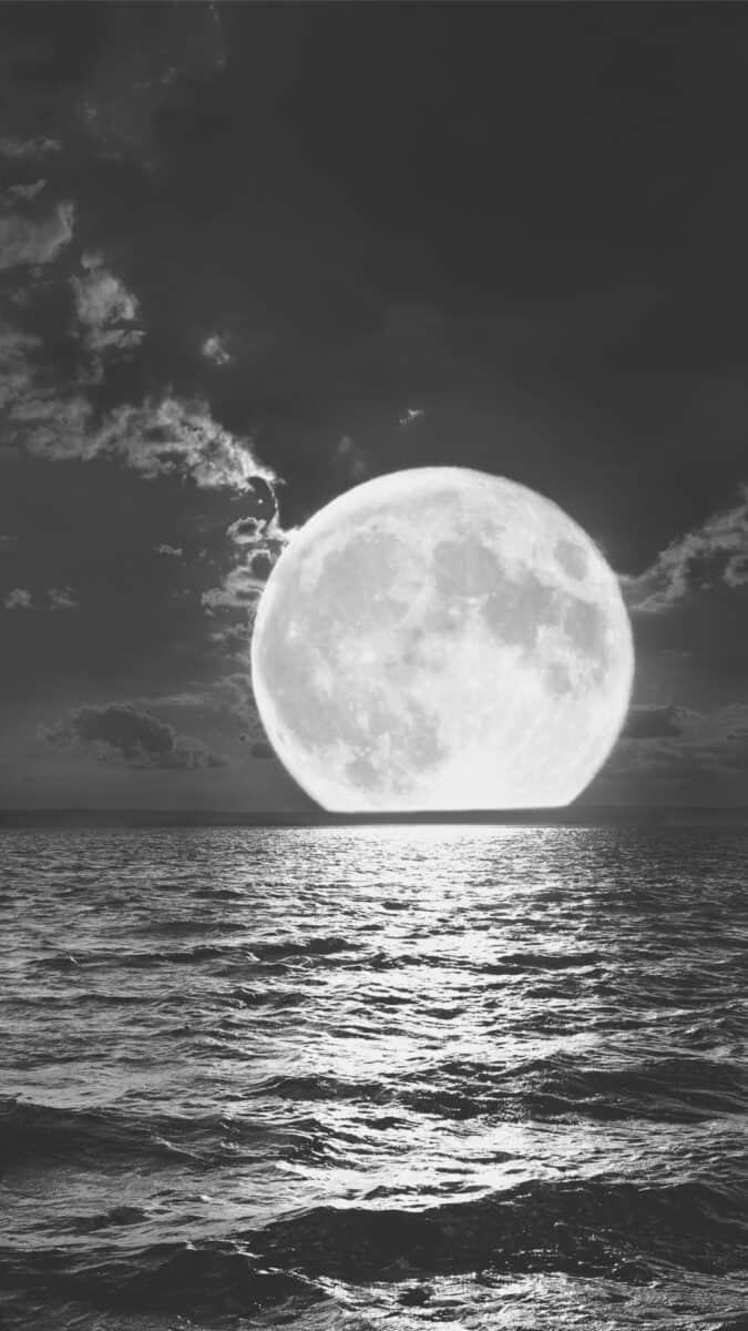 moon Black Aesthetic Wallpapers