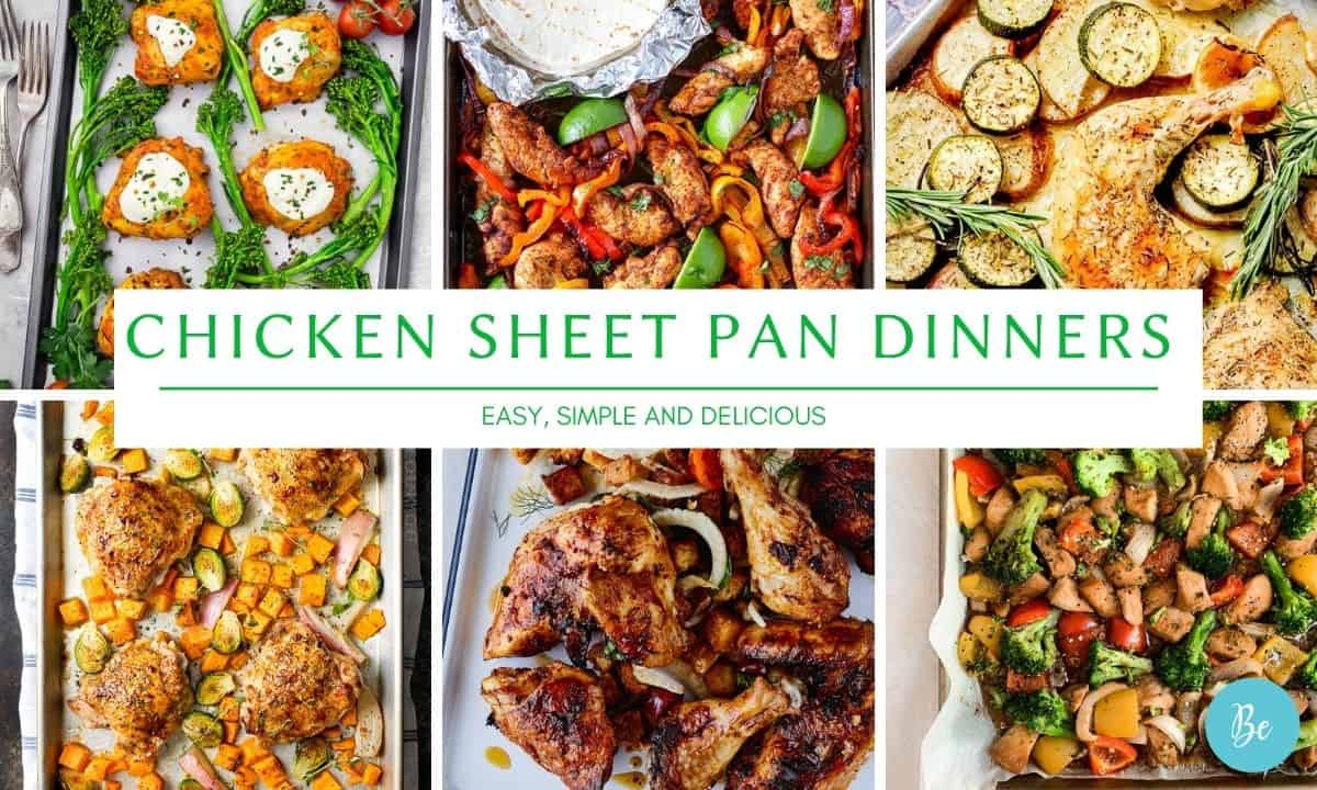 Chicken Sheet Pan Dinners