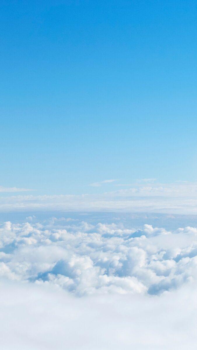 Cloud iPhone Wallpaper | Cloud aesthetic wallpaper, wallpaper aesthetic backgrounds, iPhone wallpaper. sunny blue cloud sky