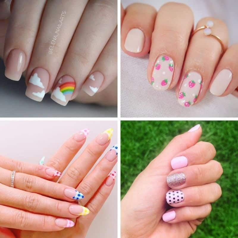 Fun nails for summer