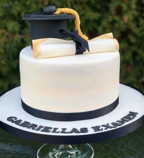 Cap and Diploma Cake