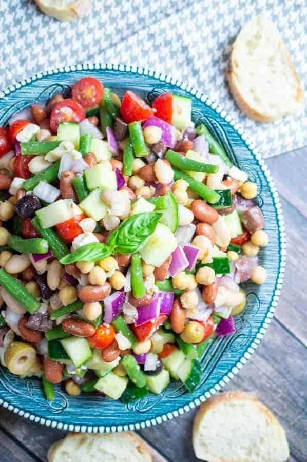 summer green bean salad perfect for a picnic