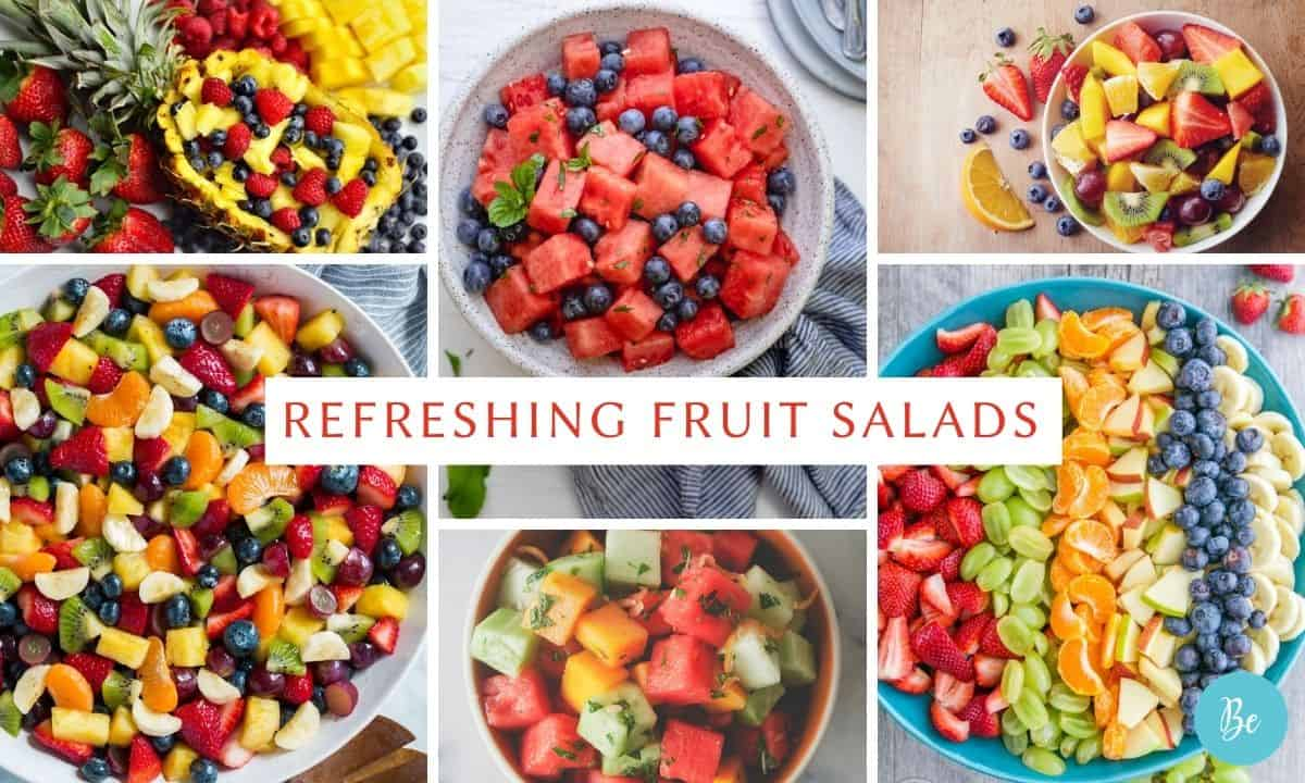 Summer Fruits Salad