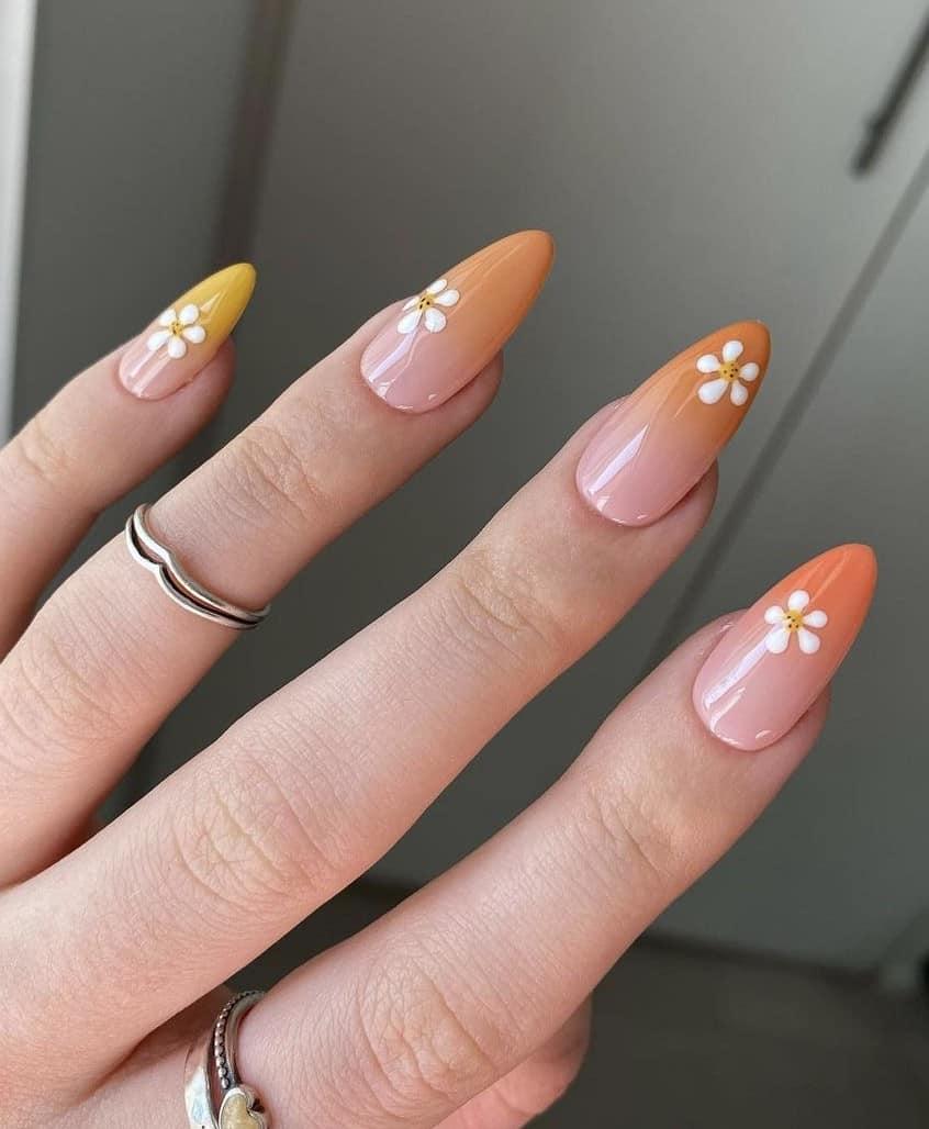Summer Pastel nails, summer nail designs