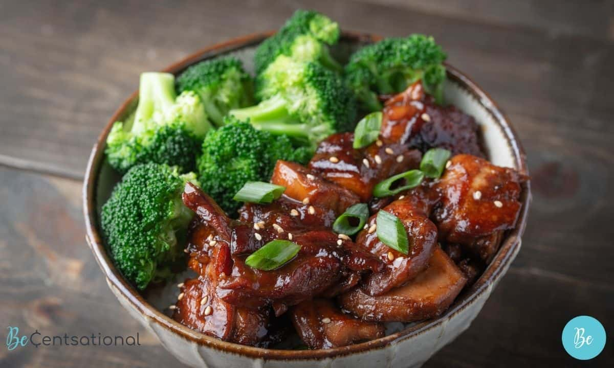 easy healthy meals Teriyaki Chicken with Vegetables