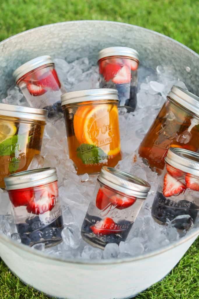 summer tea picnic idea