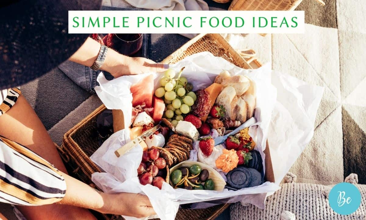 simple picnic food ideas that are delicious