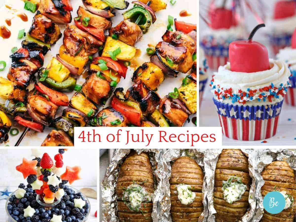 4th of July Recipes, Menu ideas for independence day