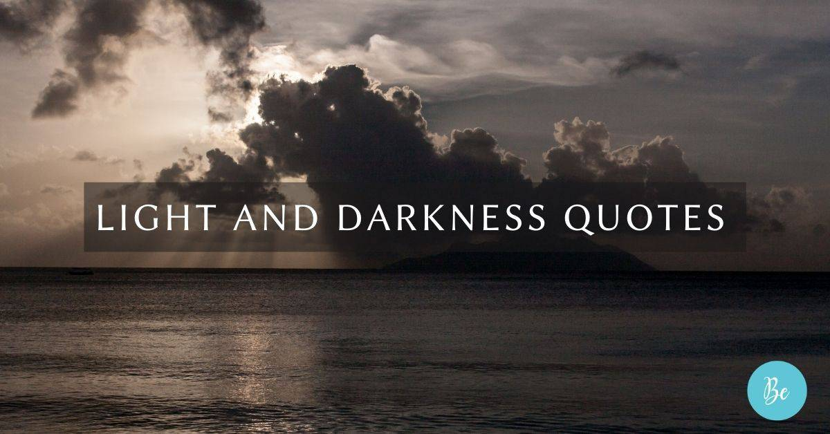 Light and Darkness Quotesack and