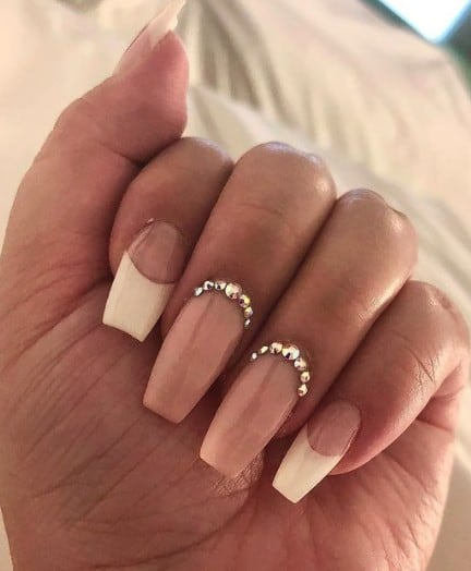 trendy jewelry Long press on nails