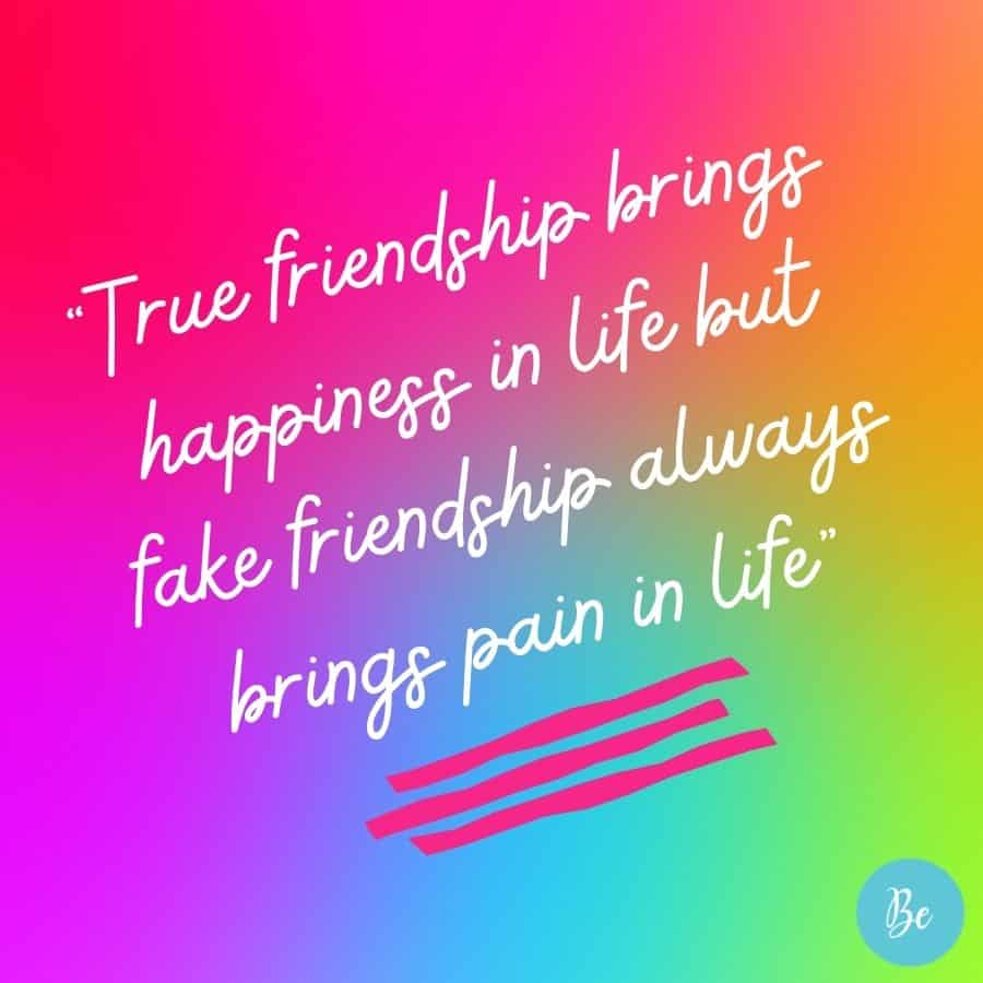 Real Quotes Fake Friends