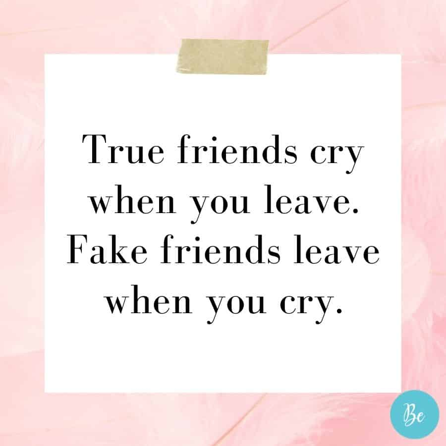 fake best friend quotes