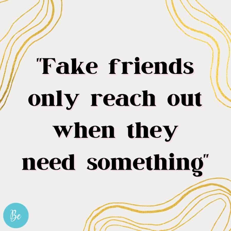 fake friends meme