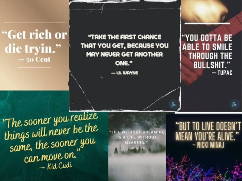 Best Rap Quotes and Lyrics of our Time